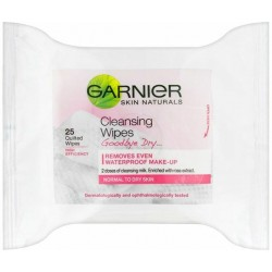 Garnier Skin Naturals Cleansing Wipes Normal to Dry Skin